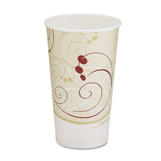 SOLO Symphony Design Hot 16 oz. Drink Cups (Case of 1,000)