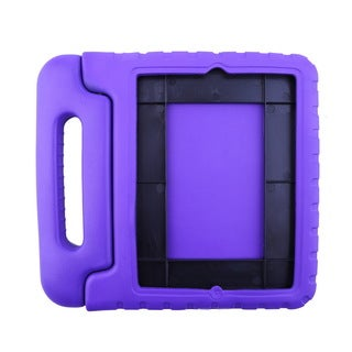 EVA Anti-Shock Proof Case for iPad 2 3 4 Handle Cover Stand Safe Foam (Purple)