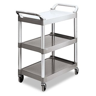 Rubbermaid Economy 3-Shelf Plastic Cart