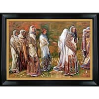 John Singer Sargent 'Cashmere, 1908' Hand Painted Framed Oil Reproduction on Canvas