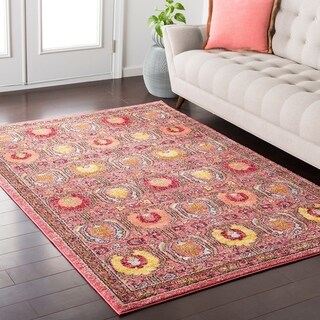 Colony House Vintage Oriental Red Rug (2' x 3')