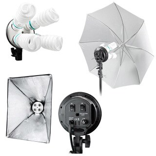 Studio Continuous Lighting Kit 1600W