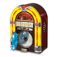 Tabletop Jukebox CD- Cherry