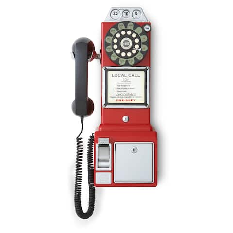 1950's Payphone- Red