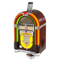 Tabletop Jukebox with Bluetooth- Cherry