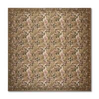 Needlepoint Aubusson Multicolor 100-percent Wool Flat Pile Rug (10' x 10') - multi