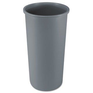 Rubbermaid Untouchable Grey 22-gallon Round Waste Container