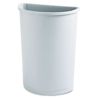 Rubbermaid Grey Half-round 21-gallon Untouchable Waste Container