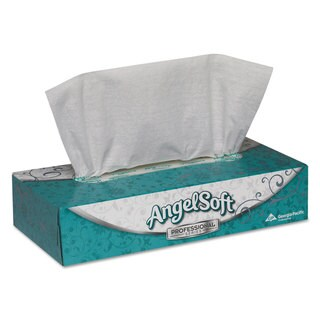 Angel Soft Premium Facial Tissue Boxes (Case of 30)