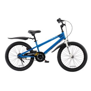 RoyalBaby BMX Freestyle Kids Bike, Boy's Bikes and Girl's Bikes, Gifts for children, 20 inch wheels, in 6 colors (More options available)
