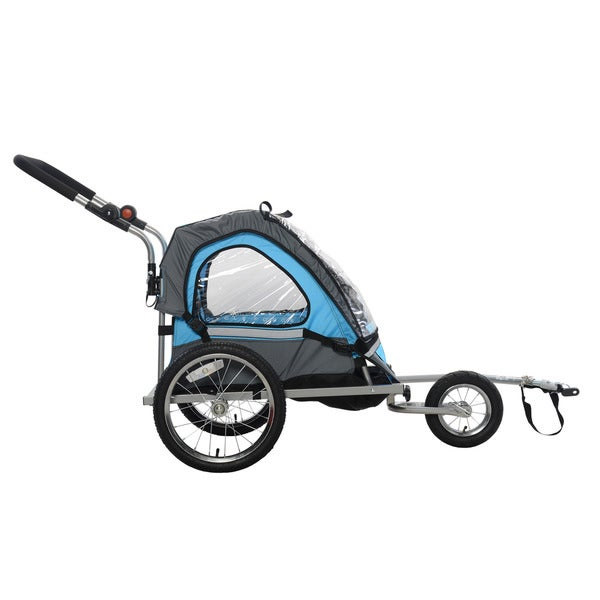 Cycle Force C12 Single Child 2-in-1 Bicycle Trailer /& Jogger