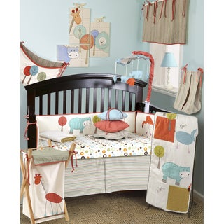 Cotton Tale Scribbles Jungle 8-piece Crib Bedding Set