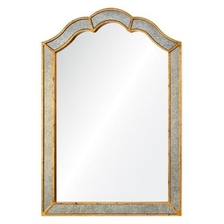 Cooper Classics Heather Gold Metal/Glass Wall Mirror