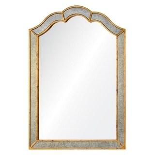 Cooper Classics Heather Gold Metal/Glass Wall Mirror