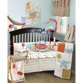 Cotton Tale Scribbles Jungle 7-piece Crib Bedding Set