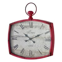 Cooper Classics Emerison Glass Clock