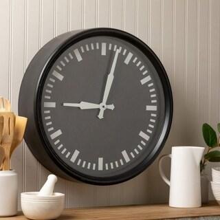 Carson Carrington Tohmo 19.5-inch Metal Wall Clock