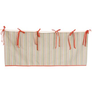 Cotton Tale Scribbles Jungle Multicolor Stripe Window Valance
