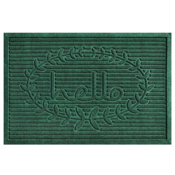 Poly Hello Indoor/Outdoor Mats (24 X 36)   Free Shipping On Orders Over $45    Overstock.com   22279189