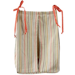 Cotton Tale Scribbles Jungle Multicolor Stripe Diaper Stacker