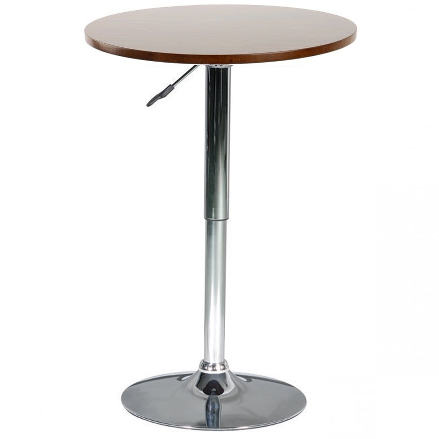 Creative Minimalist Collection Wood Bar Table with Gas Li...