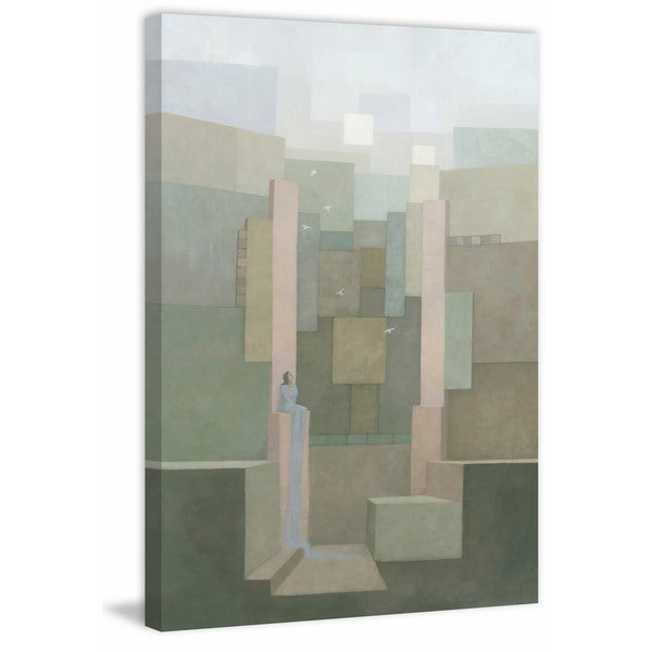 The Salt Palace' Painting Print on Wrapped Canvas
