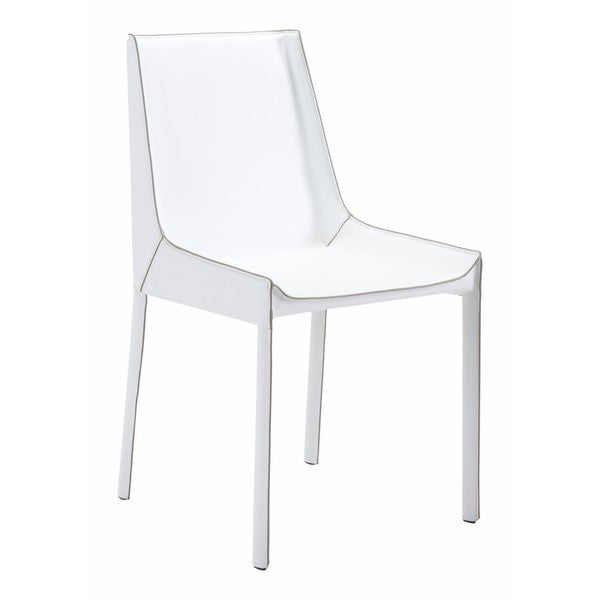 Zuo White Fashion Dining Chairs (Set Of 2)