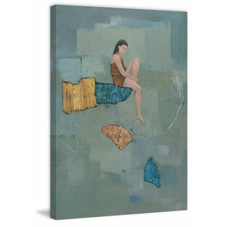 Set Adrift' Painting Print on Wrapped Canvas
