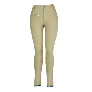 Devon-Aire Versailles Classic Fit Khaki Riding Breech