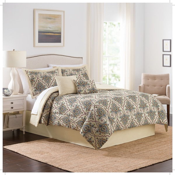 Traditions by Waverly Anatalya 6-Piece Comforter Collection