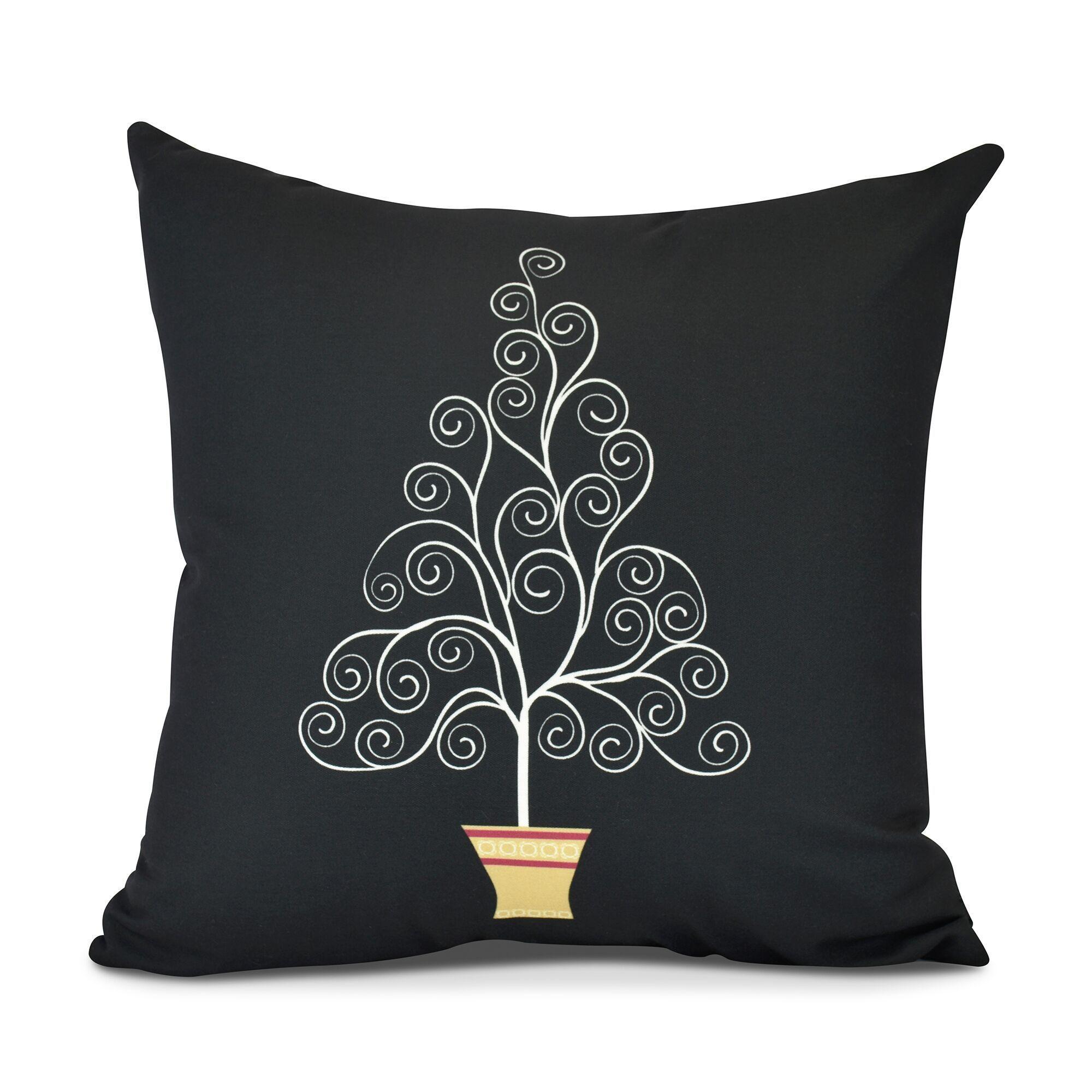 Filigree Tree, Geometric Print Pillow | eBay