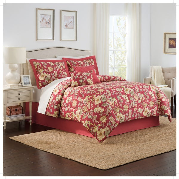 Traditions by Waverly Honeymoon 6-Piece Comforter Collection
