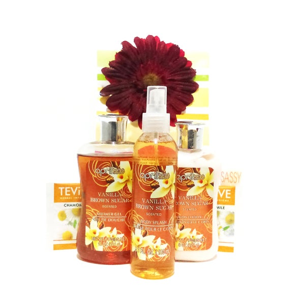 Rejuvenating Vanilla Sugar Spa Set