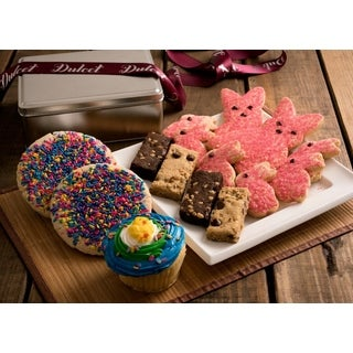 Easter Sprinkle Cookie Gift Tin Assortment