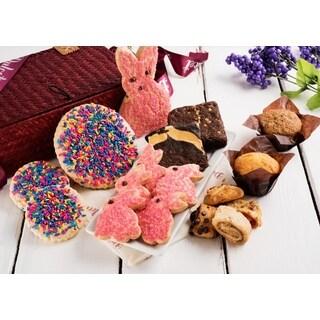 Dulcet Easter Bunny Food Gift Basket