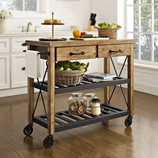 Genial Roots Rack Industrial Kitchen Cart