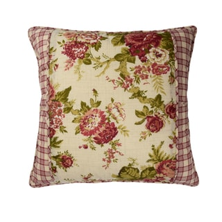 Waverly Norfolk 18 inch Square Decorative Accessory Throw Pillow