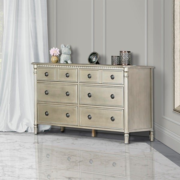 Evolur Julienne Wood 6-drawer Double Dresser