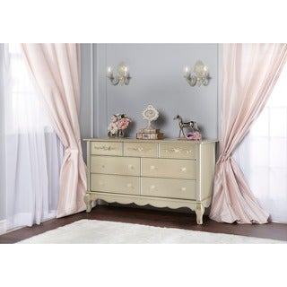 Evolur Aurora 7-drawer Wood Double Dresser
