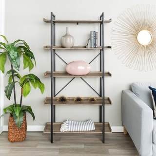 68-inch Urban Pipe Bookshelf - Thumbnail 0
