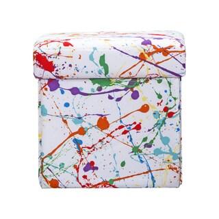 Crayola Splat Box Ottoman