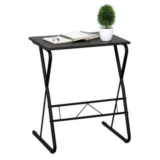 Furinno Besi Metal Frame Writing Desk, Espresso FC1070EX