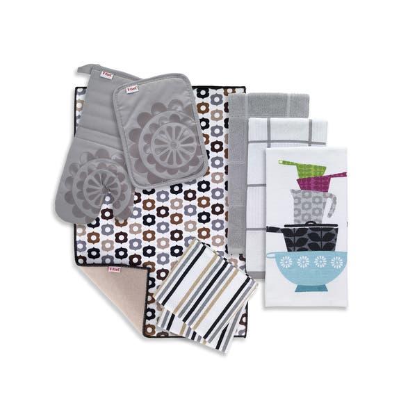 Shop T-fal Textiles 8 Pack Kitchen Textile Set: Kitchen ...