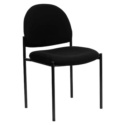 Offex Fabric Comfortable Stackable Steel Side Chair