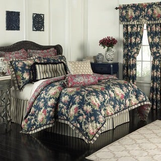 Waverly Sanctuary Rose 100% Cotton 4 Piece Bedding Collection