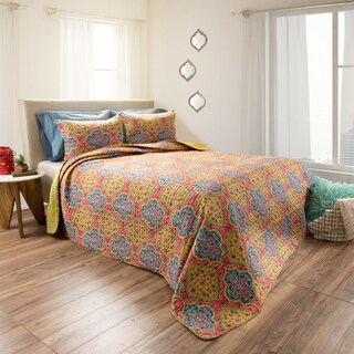 Arlene Embossed Reversible Quilt Set by Windsor Home