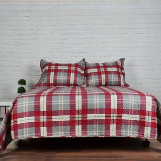 Gauthier 3-piece Printed Quilt Set