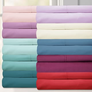 Sweet Home Collection Luxurious Ultra Soft 6-Piece Bed Sheet Set