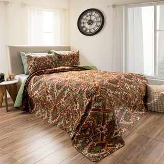 Selena Embossed Reversible Quilt Set by Windsor Home