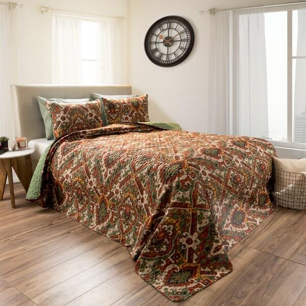 Selena Embossed Reversible Quilt Set by Windsor Home